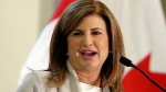 Interim Conservative leader Rona Ambrose speaks in Ottawa on Tuesday, May 16, 2017. (Fred Chartrand / THE CANADIAN PRESS)