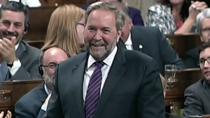 CTV News Channel: Mulcair pays tribute to Ambrose