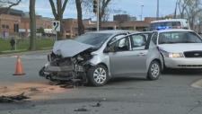 Robie Street Crash