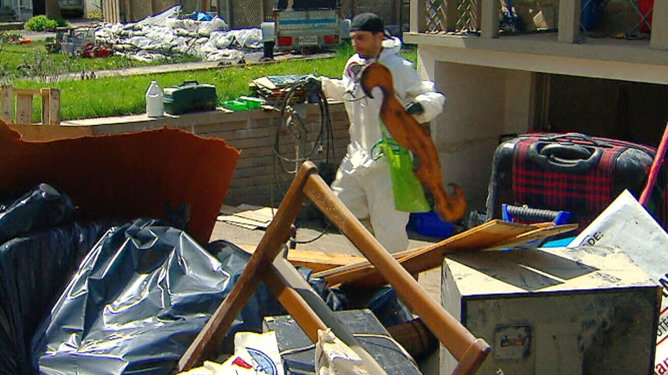 While some flood damage can be repaired, some weren't able to save some their most priceless possessions.