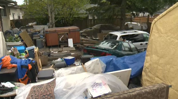 Neighbours Peeved Over Pileup Of Property In Silver