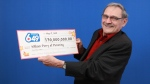 "William ""Bud"" Perry plans to use his lottery winnings to play golf in every Canadian province and territory. (OLG)"