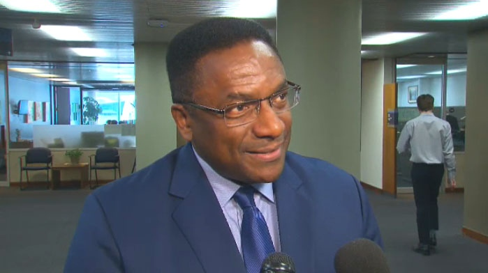City councillor Michael Thompson says he helped Air Canada flight attendants restrain an aggressive passenger on his way home from a vacation in Jamaica.