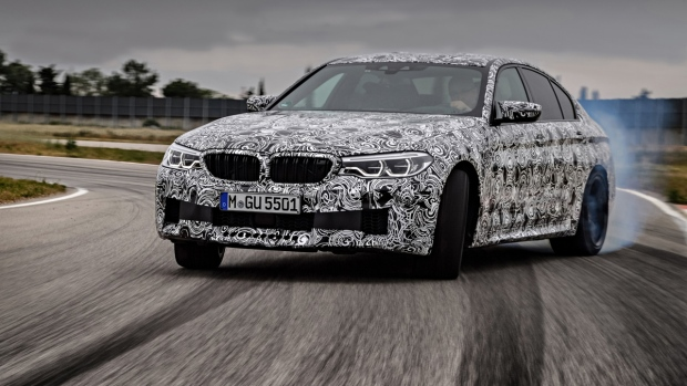 BMW M5 with XDrive