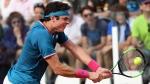 Milos Raonic at the Italian Open tennis tournament, in Rome, on May 17, 2017. (Claudio Onorati / ANSA via AP)
