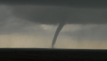 Tornado near McLean TX on May 16, 2017. (Brian Spencer/@CanadianChaser)