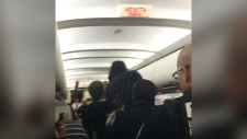 Air Canada plane diverted