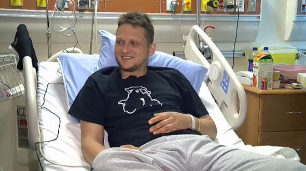 Piotr Glowacki - injured scooter rider
