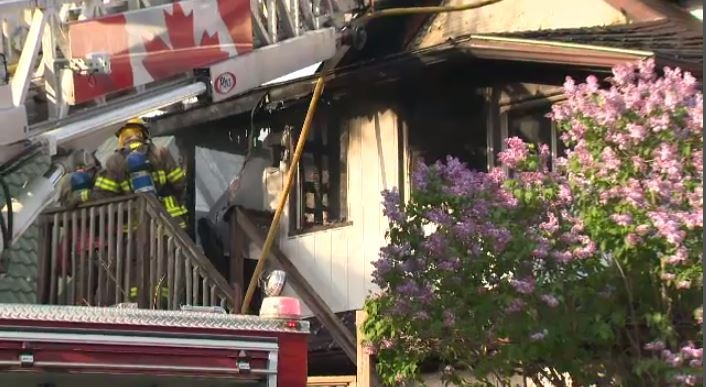 Ouse Fire On Lancaster Street In Kitchener Lancaster Closed