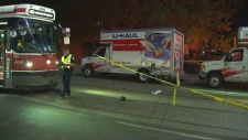 Kensington Market Cyclist struck