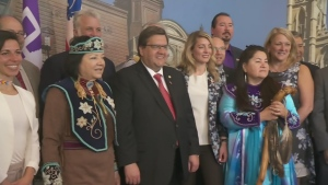 Montreal paid tribute to indigenous people at a luncheon marking The Great Peace on May 17, 2017