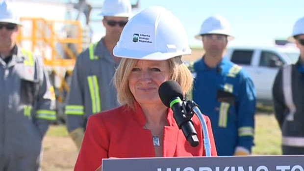 Premier Rachel Notley dismissed the threat of a Wildrose/PC merger on Thursday, saying the two parties are in danger of 'falling off the map'.
