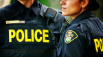 Ontario Provincial Police officers are seen in this file image.