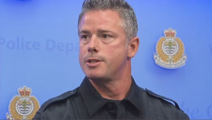 Vancouver Police Staff Sgt. Randy Fincham said VPD members will walk in the city's Pride parade this year. (CTV)