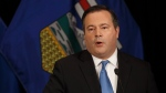Alberta PC leader Jason Kenney announces a unity deal with the Alberta Wildrose in Edmonton on Thursday, May 18, 2017. (Jason Franson / THE CANADIAN PRESS)