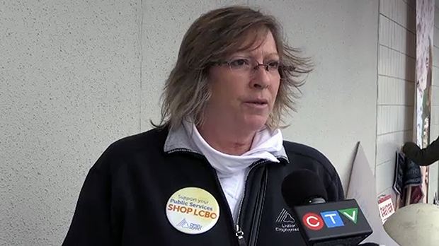 Chair of the OPSEU bargaining team Denise Davis said the union is concerned about privatization.