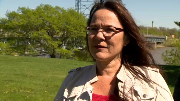Campaign organizer Jeannie Red Eagle said she first heard about the damage from Selkirk MLA Alan Lagimodiere.