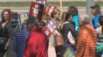 Manitoba nurses rally against ER closures