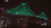 Jacques Cartier Bridge, roofcam