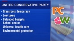 United Conservative party platforms?