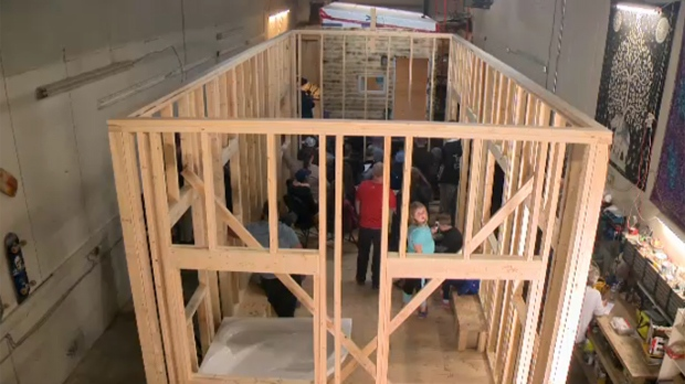 A group of tiny house enthusiasts -- including representatives from the company Mini Homes of Manitoba Inc. and the Tiny House Festival Foundation -- held a public forum Thursday to talk about the benefits of having these smaller homes in the community.