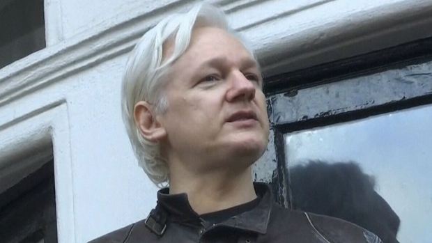Ecuador's President Says Assange Can Leave Embassy Any Time