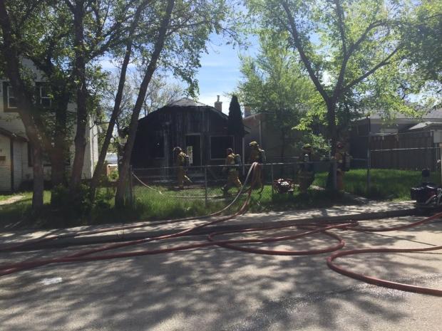 Athol Street house fire