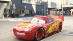 Lightning McQueen replica roars into Winnipeg