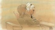 Olena Panfilova is shown at a sentencing hearing on Friday May 19, 2017. (John Mantha)