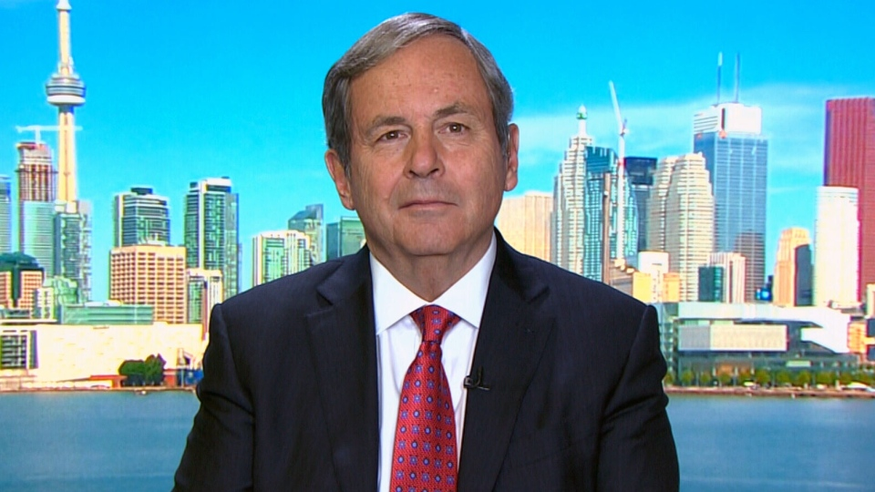 Canada's Ambassador to the U.S. David MacNaughton, speaks on CTV's Question Period. (CTV QP)