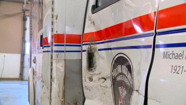 Parkland Ambulance crash