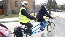 Meals-on-Wheels volunteer