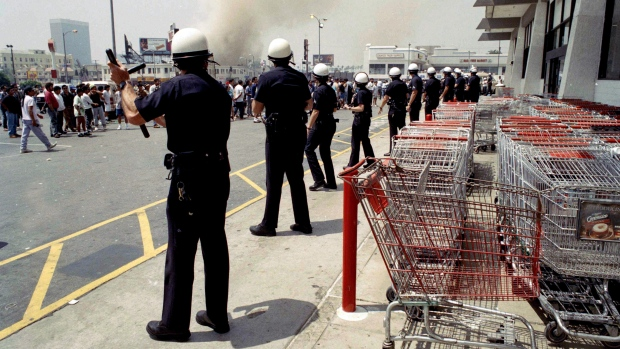 1992 riots in Los Angeles