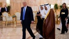 Donald Trump Saudi King Salman