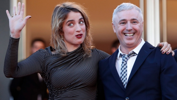 Actress Adele Haenel and director Robin Campillo