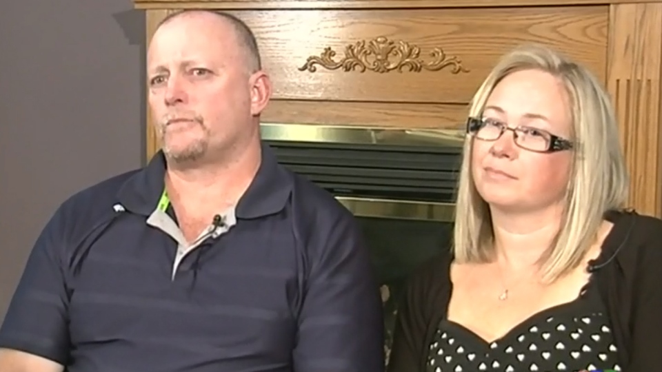 Jaye and Robert Butler from Innisfil, Ont. took a Barrie, Ont. hospital to court for complications during their daughter's 2007 birth.