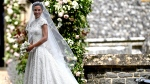 Pippa Middleton arrives for her wedding to James Matthews, at St Mark's Church in Englefield, England, Saturday, May 20, 2017. (Justin Tallis/Pool Photo via AP)