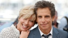 Actors Emma Thompson and Ben Stiller pose for photographers during the photo call for the film The Meyerowitz Stories at the 70th international film festival, Cannes, southern France, Sunday, May 21, 2017. (AP Photo/Alastair Grant)