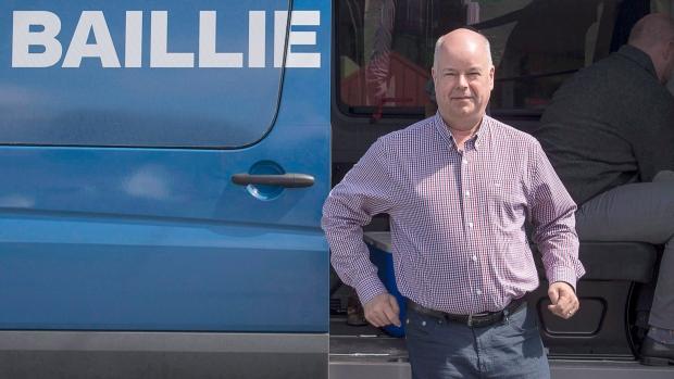 Nova Scotia PC leader Jamie Baillie