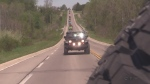 Jeep convoy from Ingersoll to Turkey Point