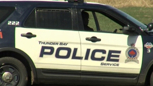 A Thunder Bay Police Service vehicle is seen in this undated file photo.