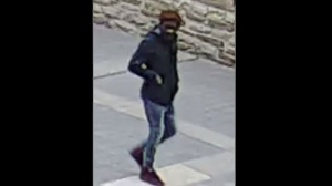 Toronto police have released images of a suspect wanted in connection with an assault near the Eaton Centre on May 19, 2017. (Toronto Police Service/ handout)