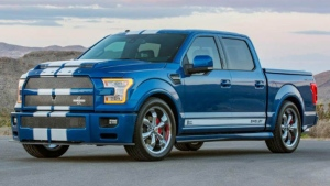 Super souped-up versions of America's favorite pickup truck are to be produced as a collaborative effort between Shelby, Ford Performance and Borla. (Shelby)