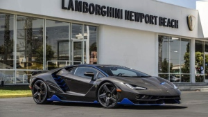 The Lamborghini Centenario's first U.S. customer has picked up the new ride. (Lamborghini)