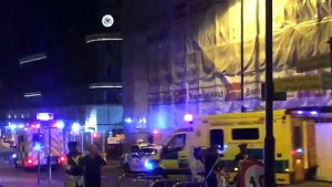 """Police in Manchester, U.K., are responding to a """"serious incident"""" at the Manchester Arena."""