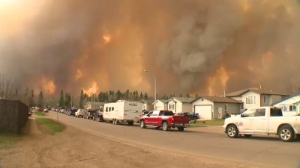 Risk of wildfire high in Slake Lake