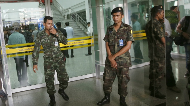Police say bomb at Thai hospital wounds more than 20 people