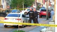Police are investigating after two people were found shot to death in the city's east end on May 23, 2017.