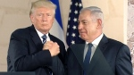 Trump proclaims bond with Netanyahu during histori