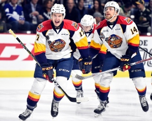 The Erie Otters defeated the Saint John Sea Dogs 12-5 in Windsor, Ont., on Monday, May 23, 2017. (Courtesy OHL)